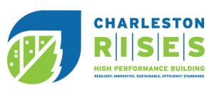 Charleston RISES logo horizontal