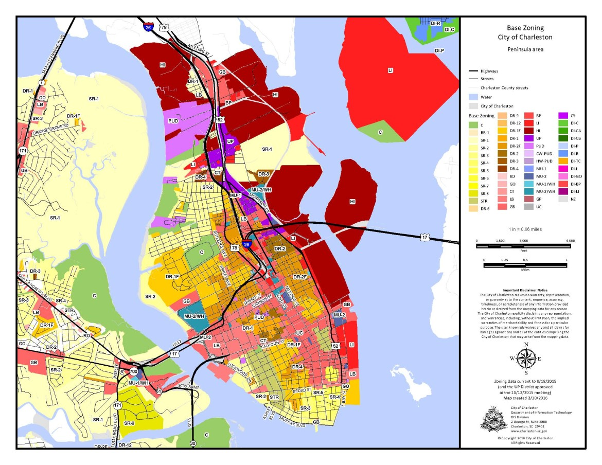 City Of Charleston Zoning Map Rtlbreakfastclub
